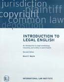 Intro to Legal English 3rd