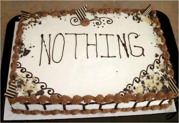 Cake-nothing
