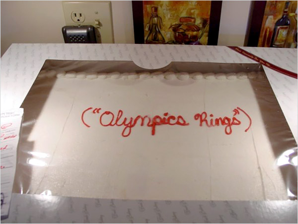 Cake-olympic