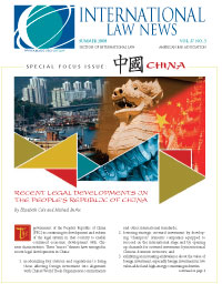 Intl Law News China