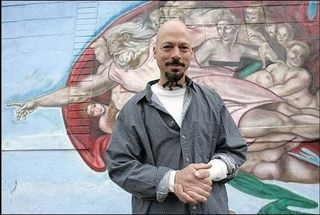 Sistine Mural - Censored