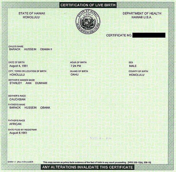 614px-BarackObamaCertificationOfLiveBirthHawaii