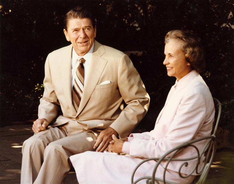 President_Reagan_and_Sandra_Day_O'Connor