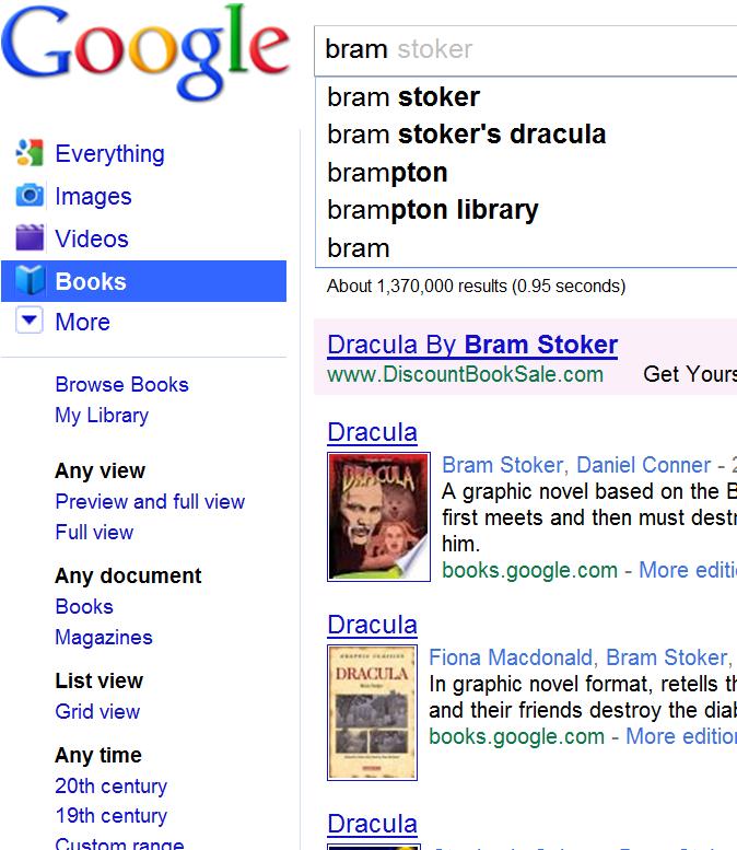 Googleinstantbooks