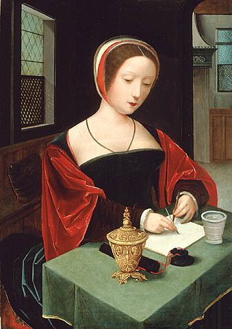 Master_of_Female_Half-length_-_Saint_Mary_Magdalene_at_her_writing_desk_-_16th_c