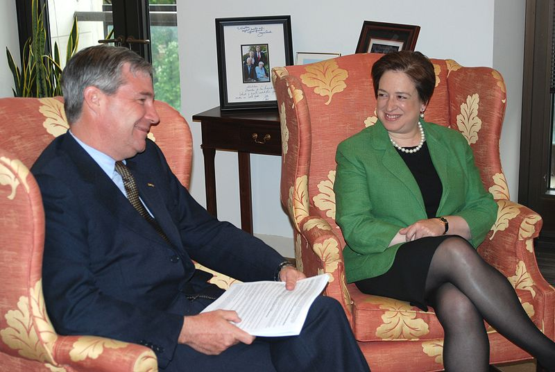 Elena Kagan and Sheldon Whitehouse