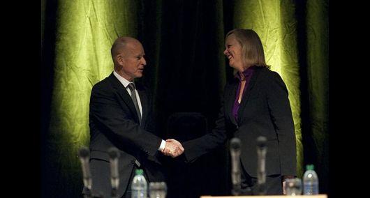 Debatejbrownmwhitmandebate2010