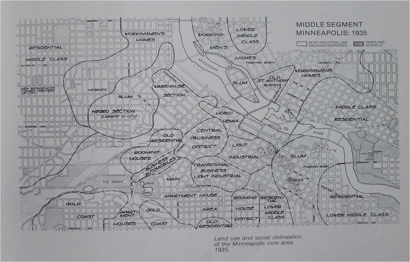 Minneapolis zoning, 1935