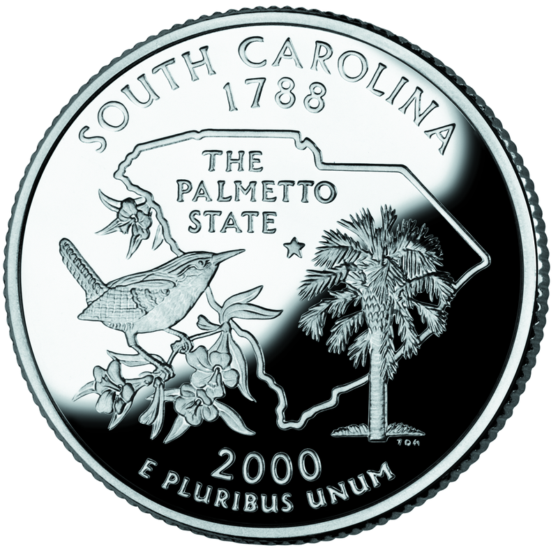 South_Carolina_quarter,_reverse_side,_2000