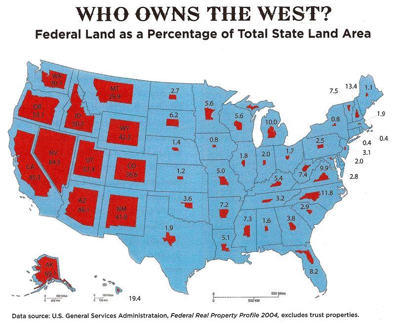 Federal lands(*)