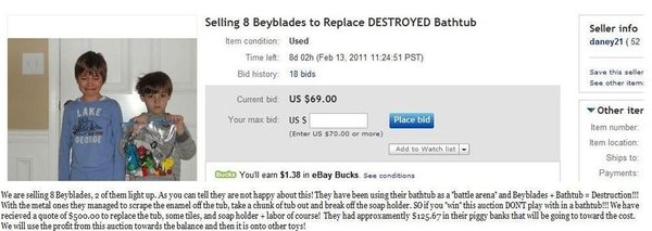 EBayed Bayblades