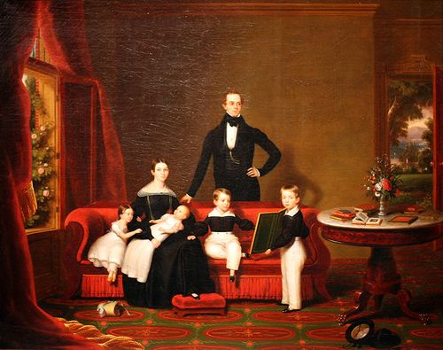 Frederick_R_Spencer-Family_Group