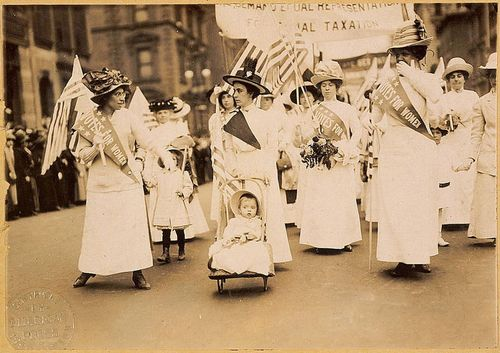 1912 NYC Women's suffrage