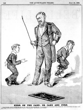 452px-StateLibQld_1_113036_Cartoon_of_students_receiving_the_cane%2C_1888
