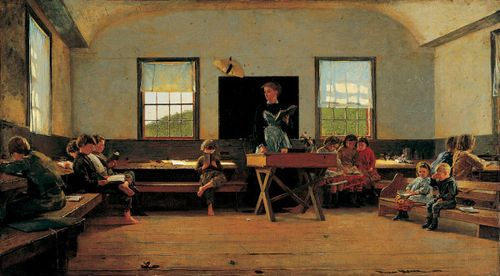 Winslow_Homer_-_The_Country_School