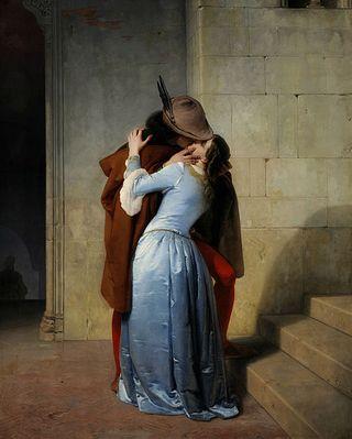 481px-El_Beso_(Pinacoteca_de_Brera,_Milán,_1859)