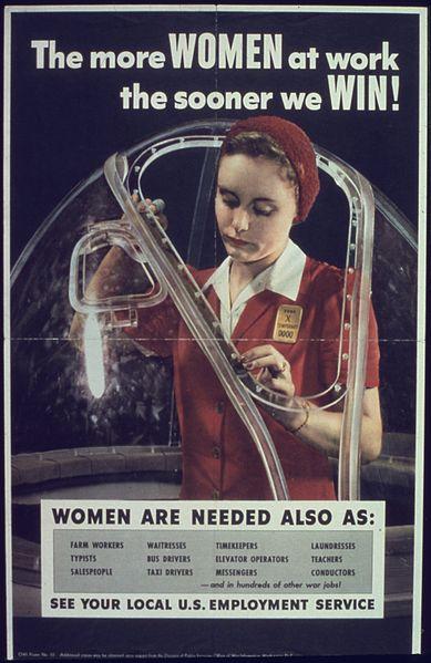 389px-THE_MORE_WOMEN_AT_WORK_-_NARA_-_513676