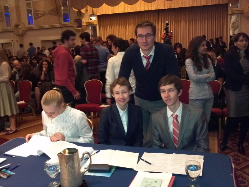 Jessup 2012 Moscow Team