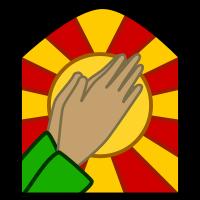 200px-Praising-hands.svg