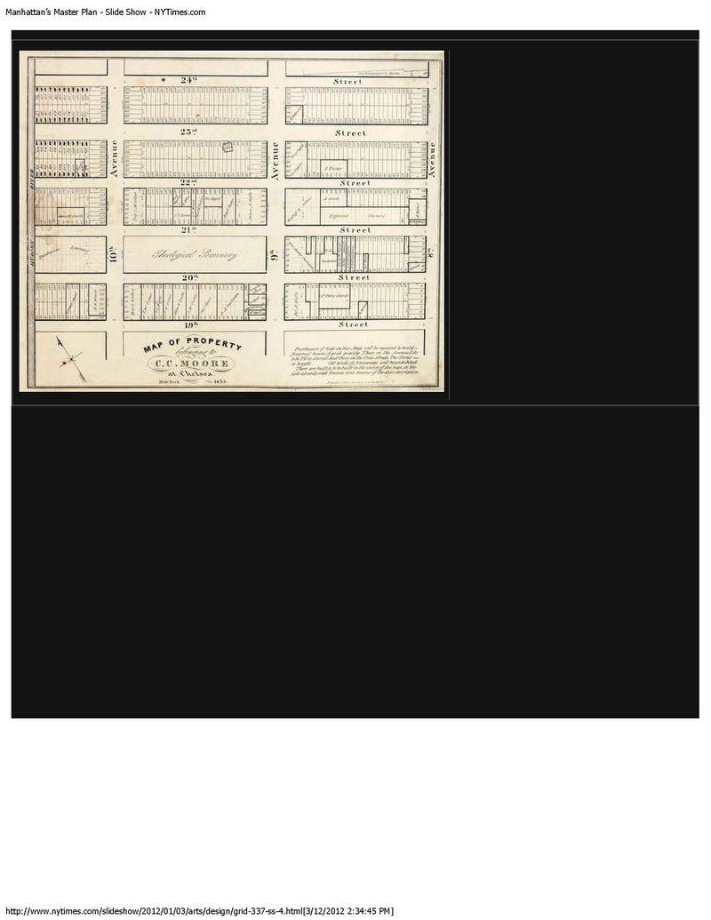 Manhattan's Master Plan - Slide Show - NYTimes.com