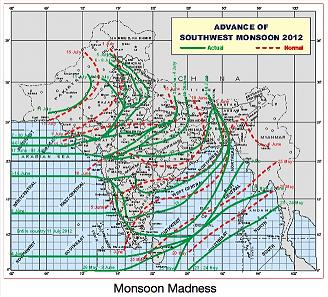 Monsoon-map