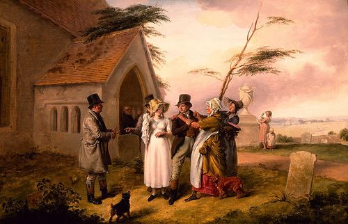 The_Interrupted_Wedding_by_Edmund_Bristow