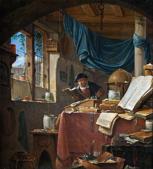 542px-Thomas_Wyck_-_A_scholar_in_his_Study_-_Google_Art_Project