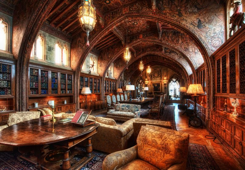 Hearst castle lib
