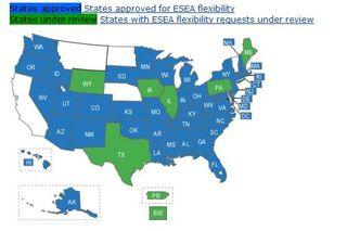 NCLB waivers Capture
