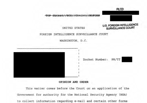 Page 1 FISA