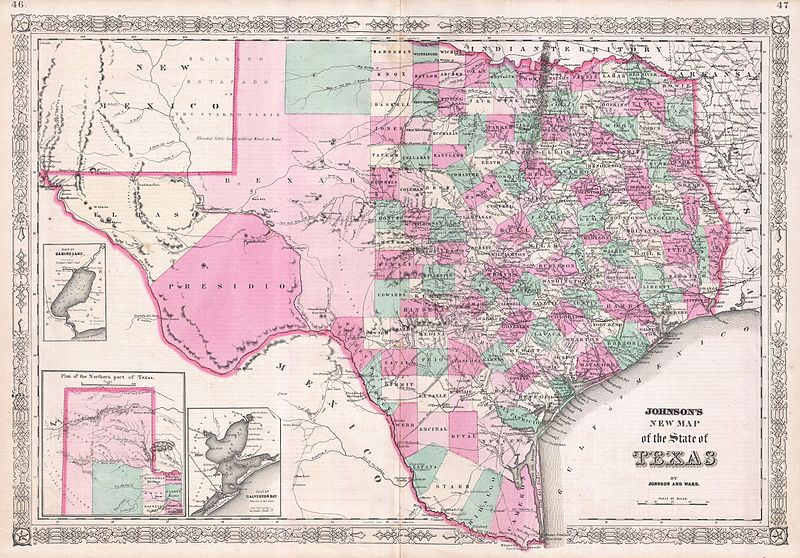 800px-1866_Johnson_Map_of_Texas_-_Geographicus_-_Texas-johnson-1866