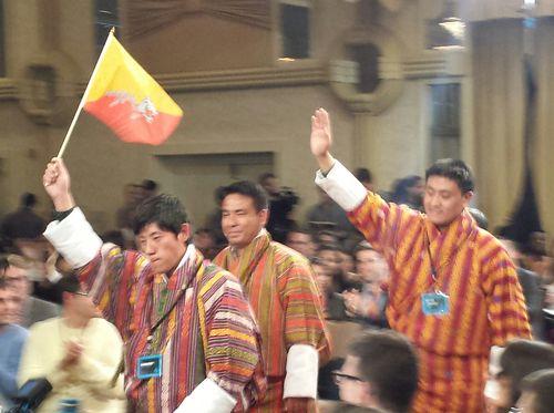 Bhutan Jessup Team