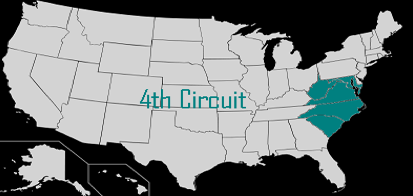 Fourth Circuit map