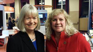 Stephanie and Cindy