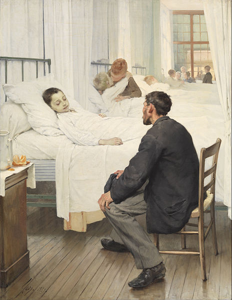 464px-Henri_Geoffroy_-_Visit_day_at_the_Hospital_-_Google_Art_Project