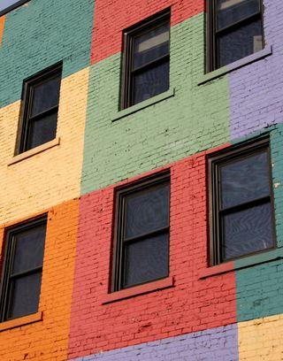 Rainbow building