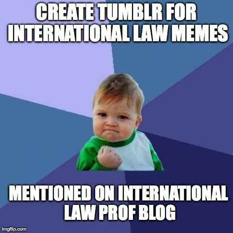 IntLawProf Blog Mention