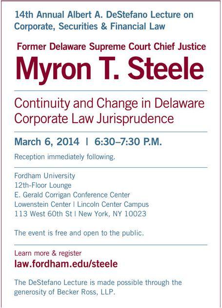 Steele invite