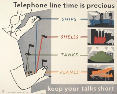 Telephone_Line_Time_is_Precious_Art.IWMPST4037