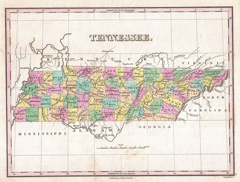 1827_Finley_Map_of_Tennessee_-_Geographicus_-_Tennessee-finley-1827