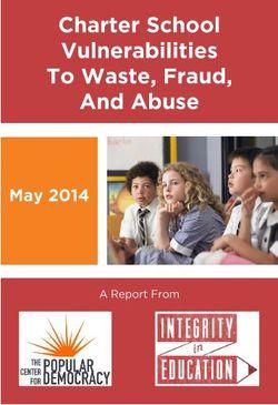 Charter fraud