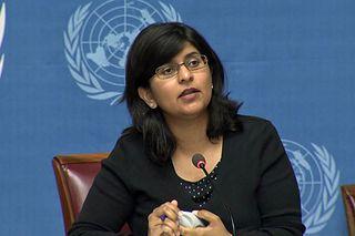 Ravina Shamsadani UNHCHR