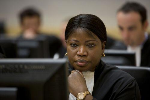 ICC Prosecutor Fatou Bensouda.