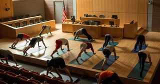 Dickinson Law - Yoga in the Courtroom