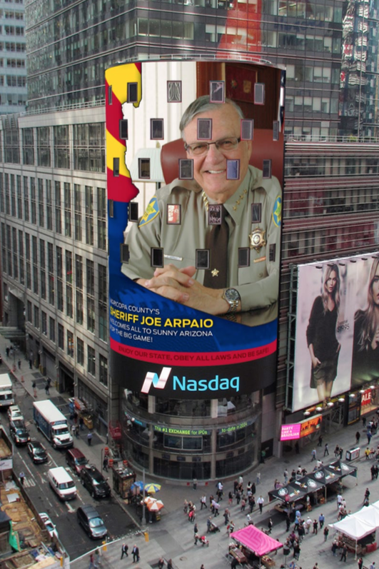 Arpaio time square