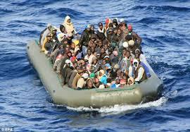 Migrants in Mediterrean