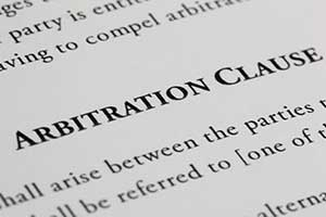 arbitration clauses bypass the court system