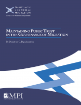 Maintaining public trust