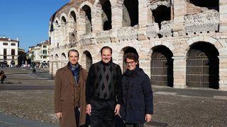 Verona Arena and Organizers