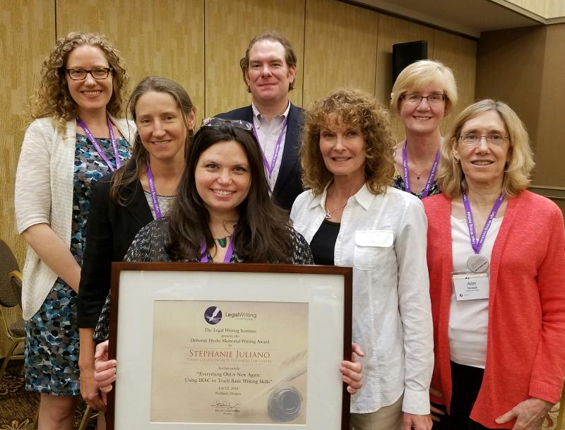 Stephanie Juliano Hecht Award